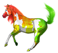 Paint horse adulte - robe 1000000138